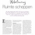 Rebalancing Happinez Artikel